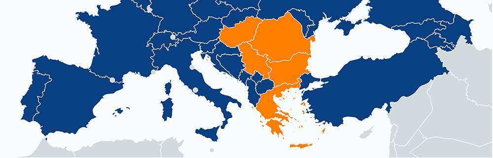 <strong>Bulgaria, Greece, Serbia, Hungary</strong>